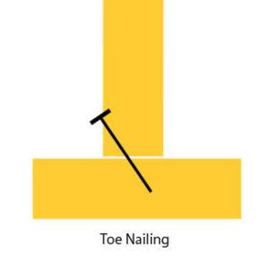 toenailing